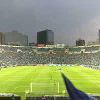 Photo taken at Estadio Azul by Guillermo M. on 5/22/2013