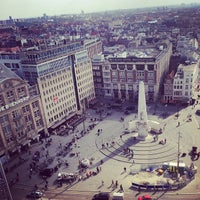 Photo taken at Dam Square by Adéle Q. on 4/5/2013