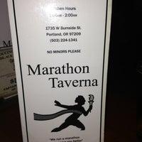 Photo taken at Marathon Taverna by Shannon V. on 2/11/2013