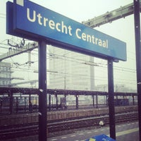 Photo taken at Utrecht Central Station by Rutger F. on 3/29/2013
