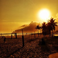 Photo taken at Ipanema Beach by Daniel V. on 5/3/2013