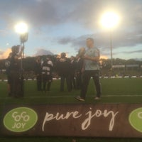 Photo taken at Brookvale Oval by Steve M. on 3/21/2016