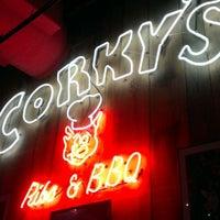 Photo taken at Corky's BBQ by Darryl W. on 1/27/2013