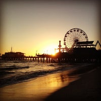 Photo taken at Santa Monica State Beach by sam r. on 4/20/2013