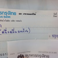 Photo taken at ธนาคารกรุงไทย สาขามะลิวัลย์ by Zashr R. on 11/18/2013