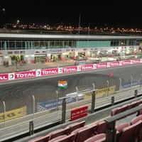 Photo taken at Dubai Autodrome by Ahmed N. on 1/11/2013