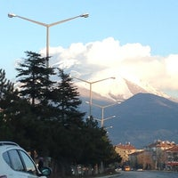 Photo taken at Isparta - Antalya Yolu by Burak A. on 1/6/2013