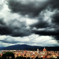 Photo taken at Forte di Belvedere by Martina F. on 9/10/2013