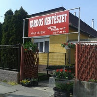 Photo taken at Kardos Kertészet by Laura L. on 4/1/2014