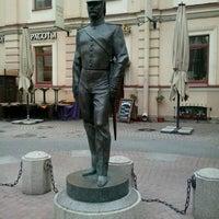 Photo taken at Памятник Городовому by Евгения П. on 6/1/2014