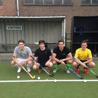 Photo taken at La Gantoise Hockey by Sebastiaan M. on 4/15/2013