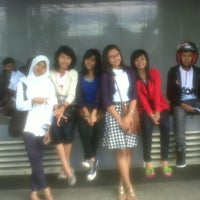 Photo taken at FE UNBAR by Nurie on 1/14/2013
