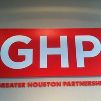Photo taken at Greater Houston Partnership by Adam H. on 8/23/2013