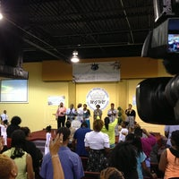 Photo taken at Manifested Glory Worship Center by Christopher A. on 7/14/2013
