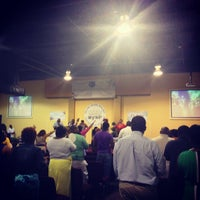 Photo taken at Manifested Glory Worship Center by Christopher A. on 7/21/2013