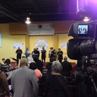 Photo taken at Manifested Glory Worship Center by Christopher A. on 3/10/2013