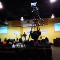 Photo taken at Manifested Glory Worship Center by Christopher A. on 3/17/2013