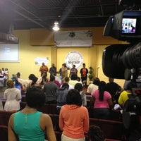 Photo taken at Manifested Glory Worship Center by Christopher A. on 5/12/2013