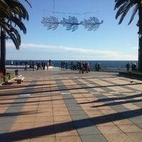 Photo taken at Balcón de Europa by Juanjo S. on 12/25/2012