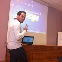 Photo taken at MIB - Master Internet Business by Carlos Á. on 3/15/2013