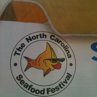 Photo taken at Morehead City Seafood Festival by Andrew B. on 10/4/2013