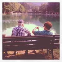 Photo taken at Ristorante Lago lo Specchio Spedaletto by Claudio C. on 7/13/2013