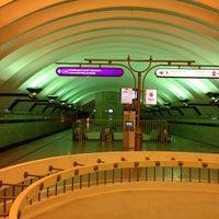 Photo taken at metro Sportivnaya by Антон Ш. on 6/3/2013