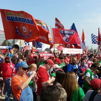 Photo taken at Toyota Stadium by Dave S. on 3/17/2013