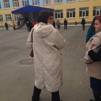 Photo taken at Школа №56 by Фаина С. on 10/16/2013