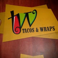 Photo taken at Tacos & Wraps by Gabriel L. on 1/31/2013