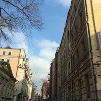 Photo taken at Большой Лёвшинский переулок by Maik W. on 3/3/2014