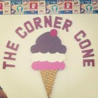 Photo taken at Corner Cone by Brandon K. on 9/19/2012