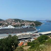 Photo taken at Dubrovnik Port by Olga D. on 7/10/2013