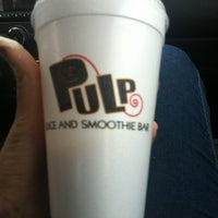 Photo taken at Pulp Juice and Smoothie Bar by Alexis T. on 12/16/2012