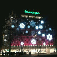 Photo taken at El Corte Inglés by Larissa G. on 12/30/2012