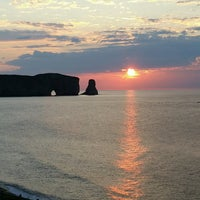 Photo taken at Rocher Percé by Guy S. on 8/11/2016