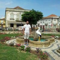 Photo taken at Figueira de Castelo Rodrigo by Fran S. on 8/23/2013