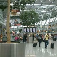 Photo taken at Düsseldorf Airport (DUS) by banana j. on 6/21/2013