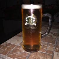 Photo taken at Restaurace U Hřiště by cubanec on 7/24/2015