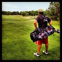 Photo taken at Prairiewood Golf Course by Rebecca B. on 7/20/2013