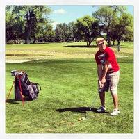 Photo taken at Prairiewood Golf Course by Rebecca B. on 8/11/2013