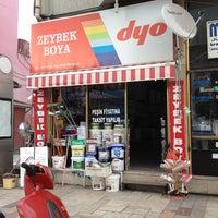 Photo taken at Zeybek Boya by Hüseyin Z. on 2/9/2013