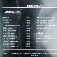 Photo taken at hamburguesas a la leña las drusas by Mijail V. on 8/14/2014