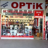 Photo taken at Febeach Optik by Mevlüt A. on 7/26/2013