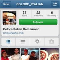 Photo taken at Colore Italian Restaurant by Kevin K. on 7/14/2013