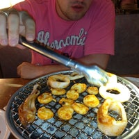Photo taken at Sukishi BBQ by Вика Д. on 6/9/2013
