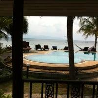 Photo taken at First Villa Resort  Pha-ngan by Anne on 1/6/2013