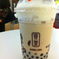 Photo taken at Gong Cha (貢茶) by Jean Y. on 11/29/2012