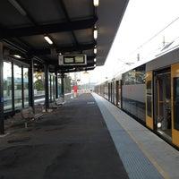Photo taken at Macarthur Station (Platforms 1 & 2) by Peter M. on 1/30/2013