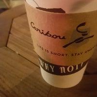 4/18/2018 tarihinde Ergün S.ziyaretçi tarafından Caribou Coffee'de çekilen fotoğraf